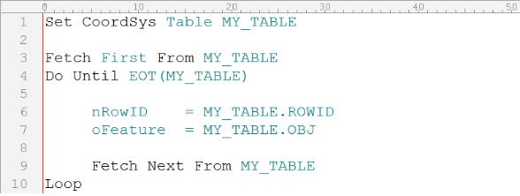 Bốn câu hỏi điển hình khi viết ứng dụng MapBasic