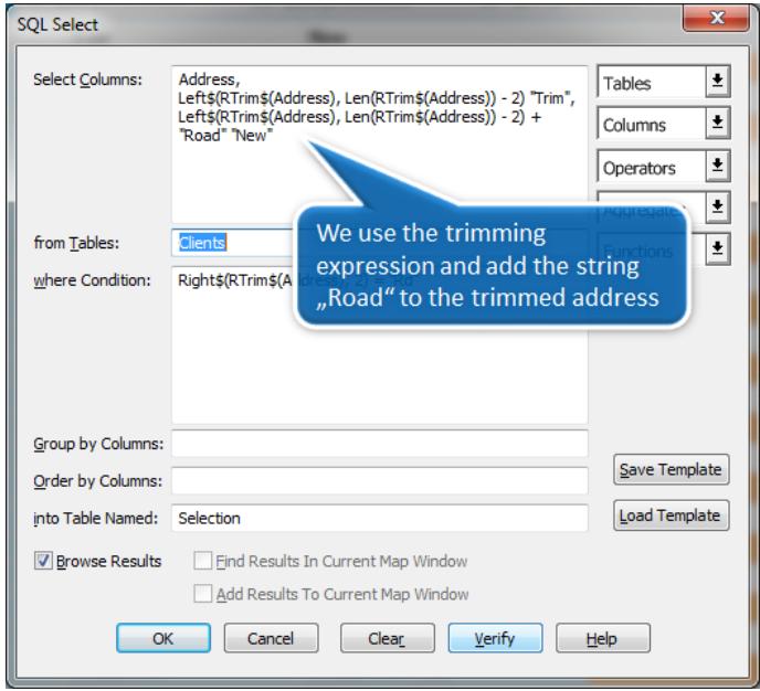 Xử lý chuỗi và thao tác văn bản với SQL Select