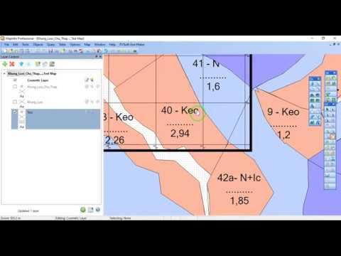 PXTsoft Grid Maker – Tool kẻ khung, lưới, tọa độ trong Mapinfo (Phần 2)